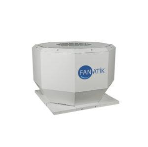 Dıştan Motorlu Çatı Tipi Dikey Atışlı Radyal Fan